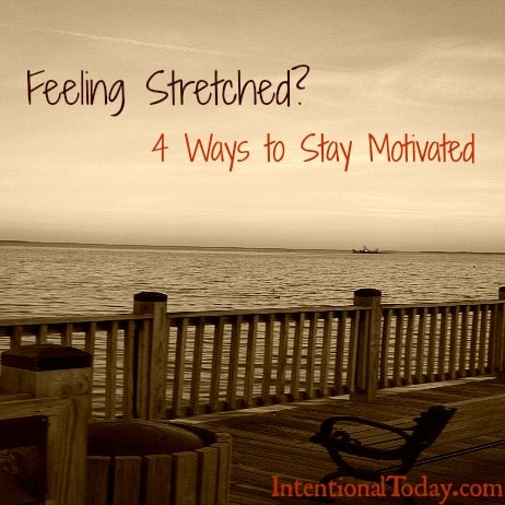 Image: Feeling Stretched? 4 Ways to Stay Motivated