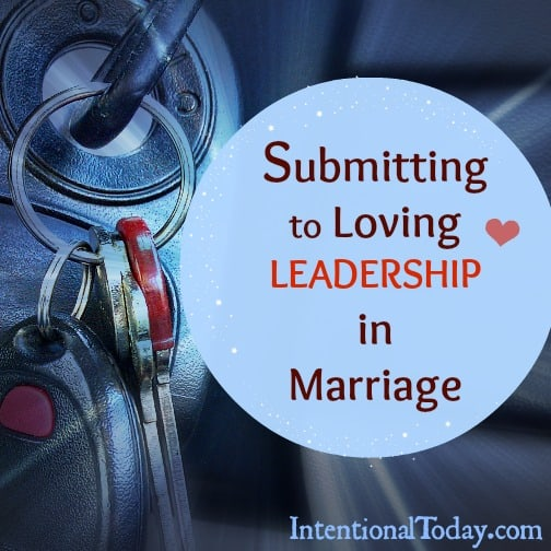Image: Submitting to Loving Leadership in Marriage