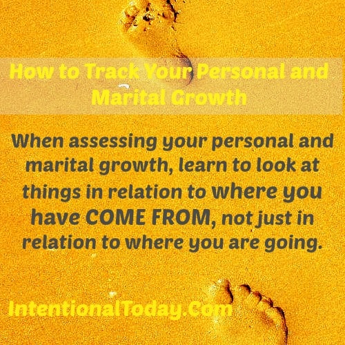 Image: how to track your personal and marital growth