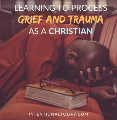 Grief and trauma as a Christian - when I became a Christian, I wasn't promised an easy life.Yet I still expect life to be easy and I am broken when it's not