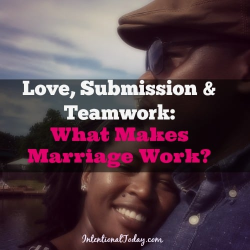 what makes marriage work essay