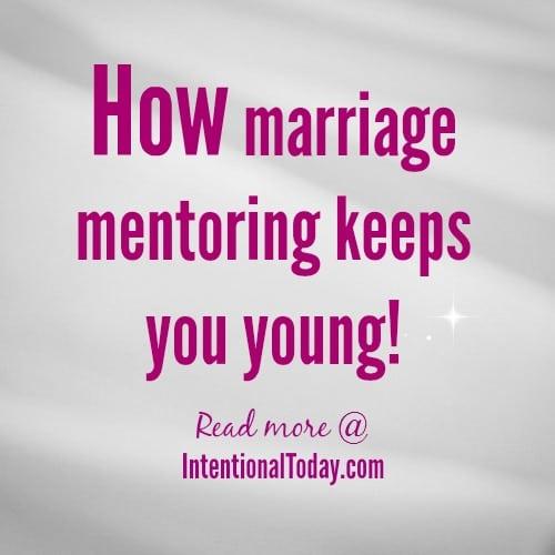 Want To Stay Young? Mentor Someone.