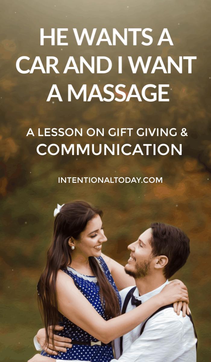 Gift giving and communication - how this one couple learned to speak up instead of making assumptions and lessons to change your marriage