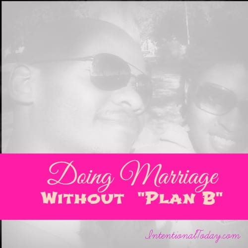 Dating without marriage plans
