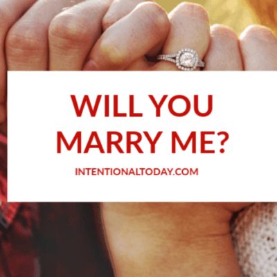 Will You Marry Me? The Commitment Test in a Proposal