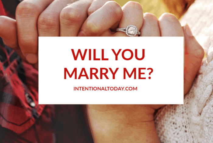 Will you marry me? Commitment is a word many fear, not because they hate to but rather are afraid of failing in the process. Here's what it means to commit