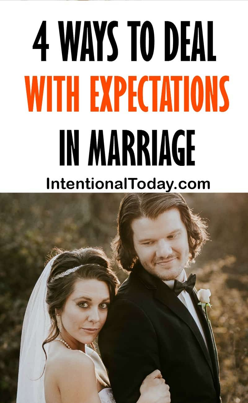 4 ways to deal with expectations in marriage