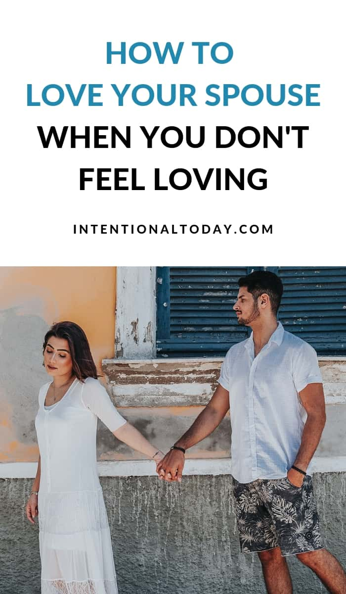 How do you love when you don't feel like it? It's possible to survive the hard days but first you need to rethink what real love means