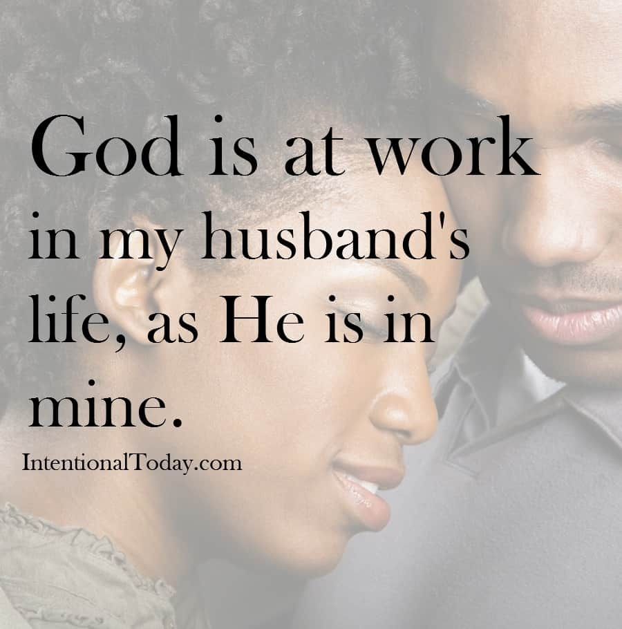 God is at work in your marriage. do you believe it?