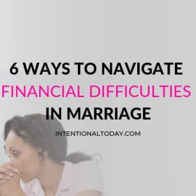 6 Ways to Navigate Financial Problems in Marriage