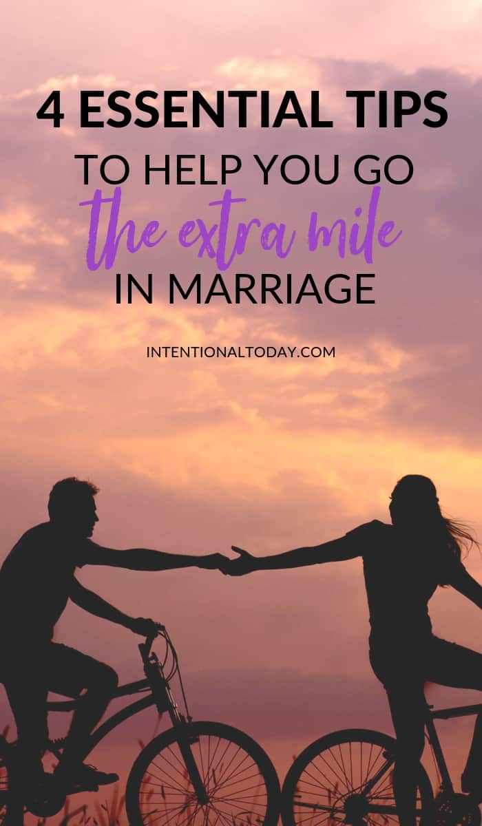 Is it healthy for one spouse to go the extra mile in marriage? Here are imporant tips to reshape your thinking and help you wait when marriage feels hard