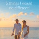 What would you different if you could do your honeymoon again? Here are my top 5 honeymoon regrets and what I would do different today!