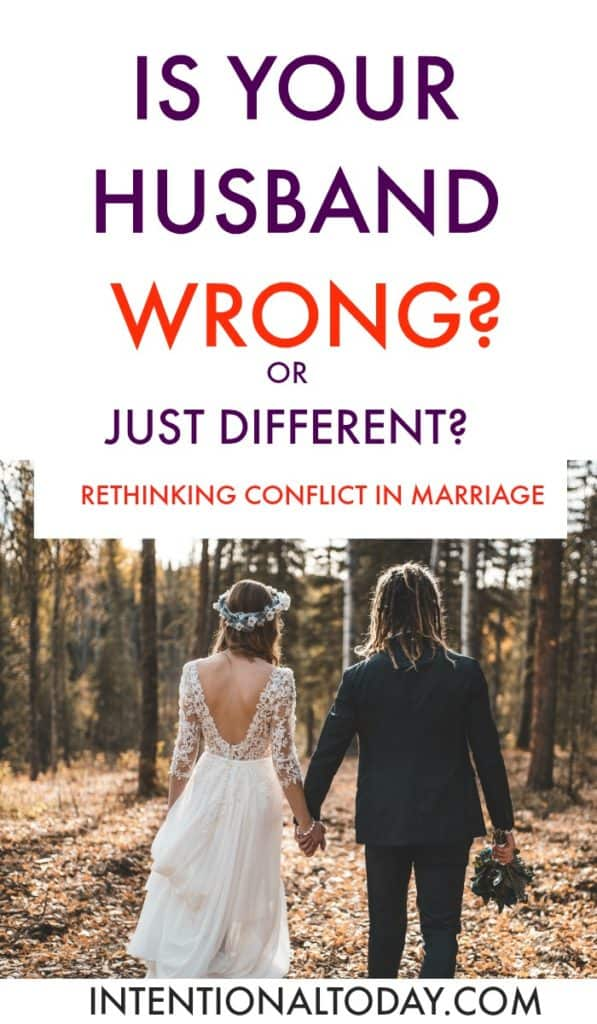 Is your spouse wrong? Or just different? How to find out