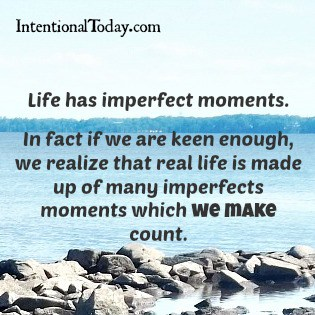 Image: For those Imperfect moments
