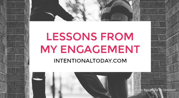 lessons from my engagement - Learning how to leave and cleave