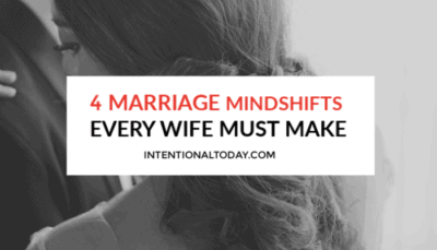 Dear newlywed wife, a great marriage will not be handed to you on a silver platter, you have to intentionally cultivate it. Here are four ways.