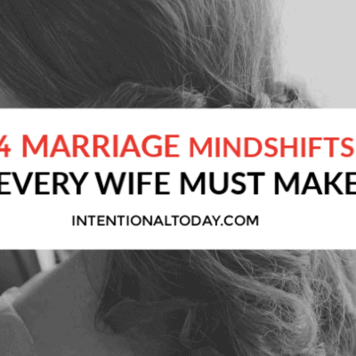 4 Indispensable Mind Shifts Every Newlywed Wife Must Make