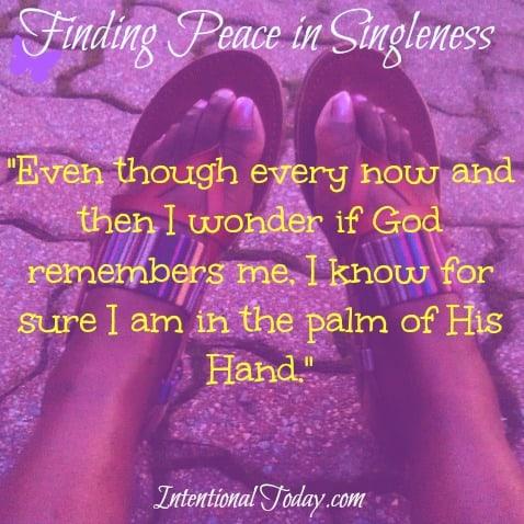 Finding Peace in Singleness