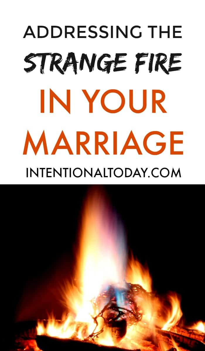 Adressing the fires in your marriage