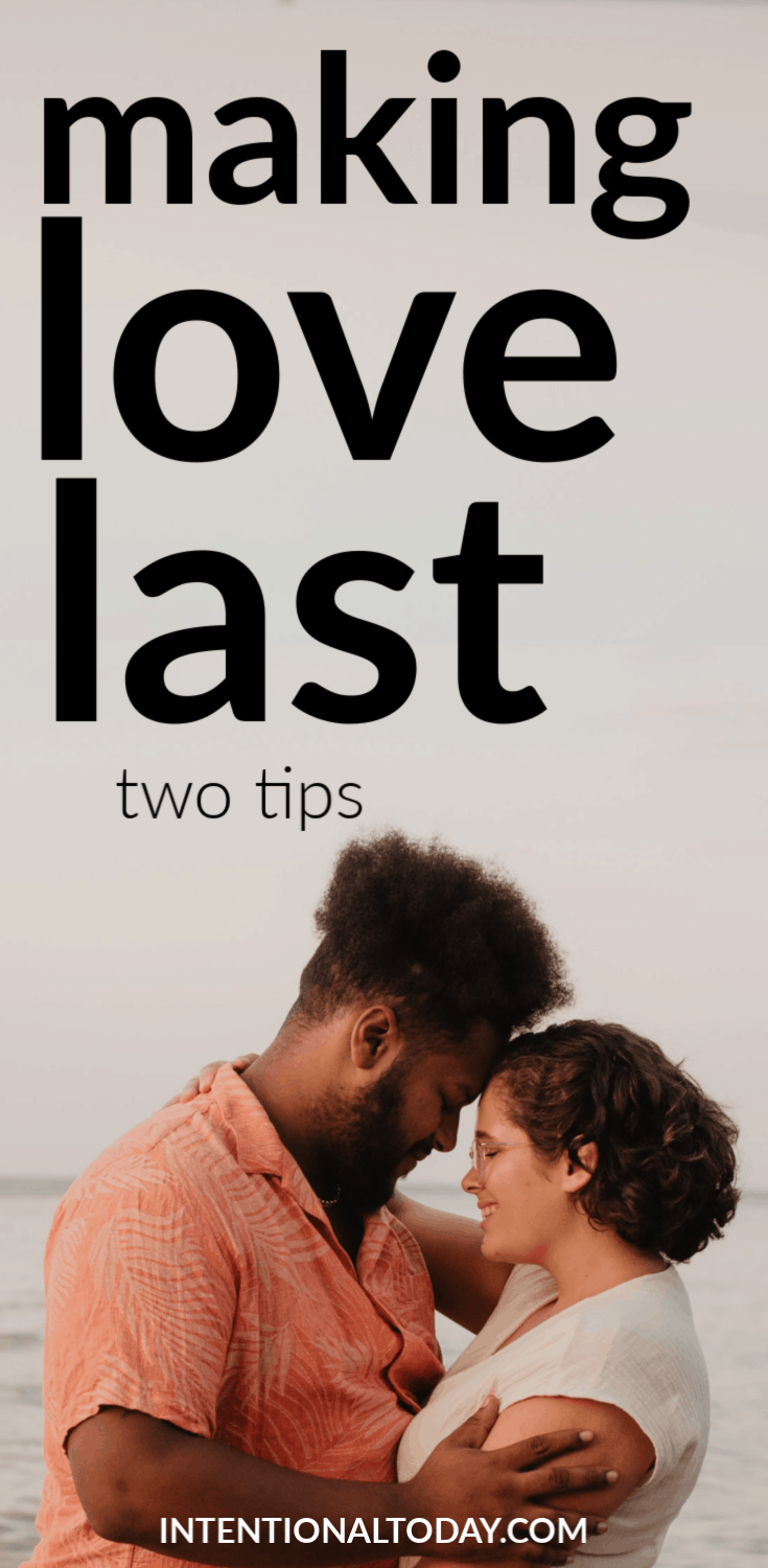What does it mean to make love last? A husband shares two secrets and how to make married love last forever. Because a happily ever after is possible.