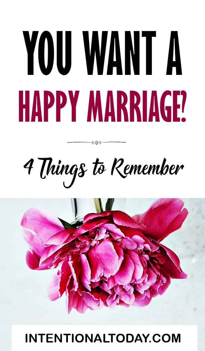 So you want a healthy marriage