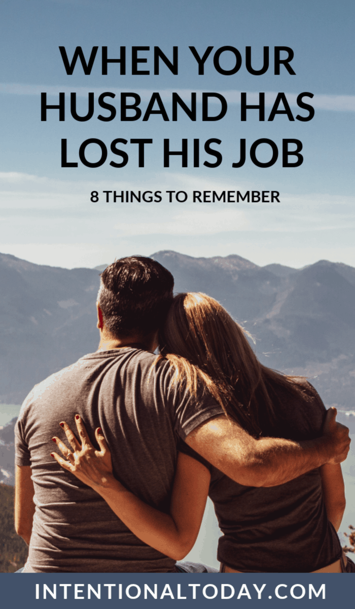 Has your husband lost his job? Financial stresses are a marriage stressor! Here are 8 ways to navigate financial struggles in marriage so you can thrive