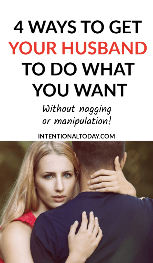 Is it possible to get your husband to do what you want? Yes it is! But there's a caveat. Here are 4 ways to influence your husbands heart (and your own!)