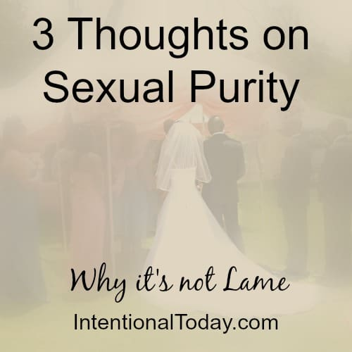My Thoughts on Sexual Purity and 3 Reasons it's Not Lame