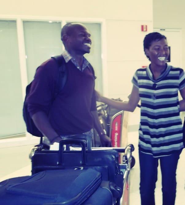At arrivals, 2011