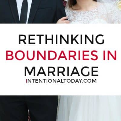 Rethinking and Drawing Boundaries For Marriage