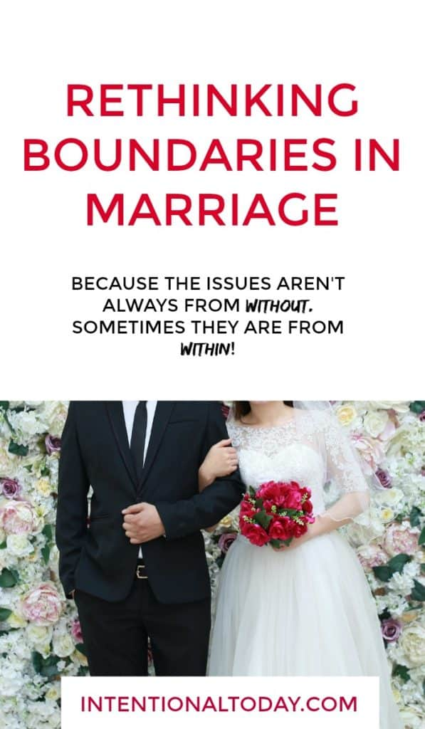 Boundaries for marriage, are they a good thing? Here's why every couple should guard their marriage and why boundaries are not always what we think they are
