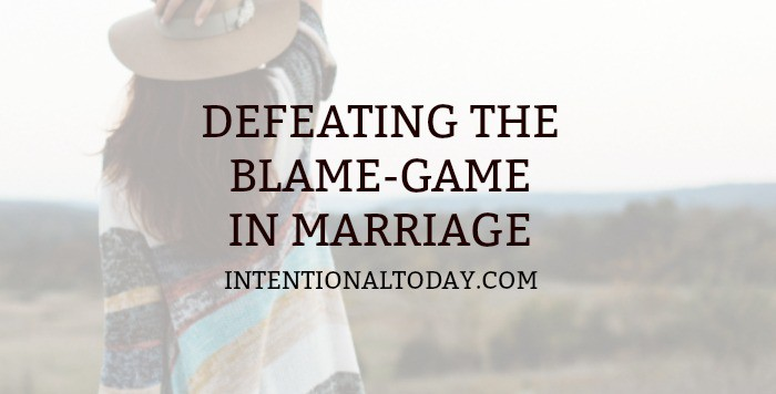 Blame in Marriage and How Fault Finding Sabotages Relationships