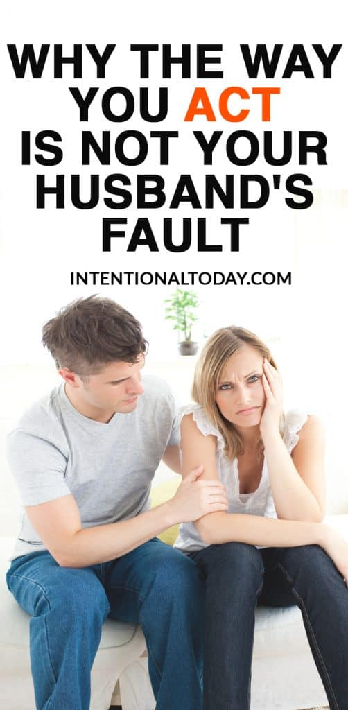 Blame in marriage is so common its like breathing. Taking personal responsibility? Not so famous. How to navigate blaming in your marriage so you can thrive