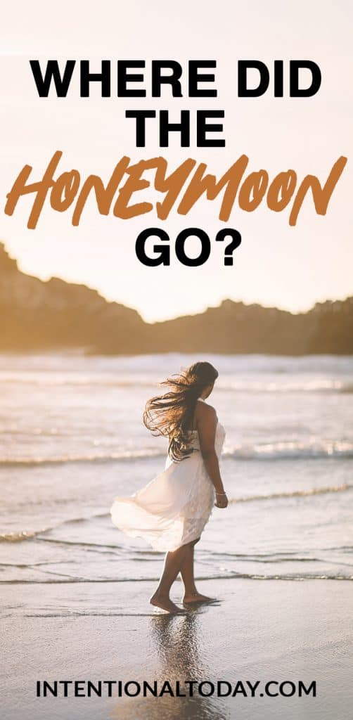 What do you do when the honeymoon doesn't last? How can we make the early years of marriage easier? Here are 3 ideas to help