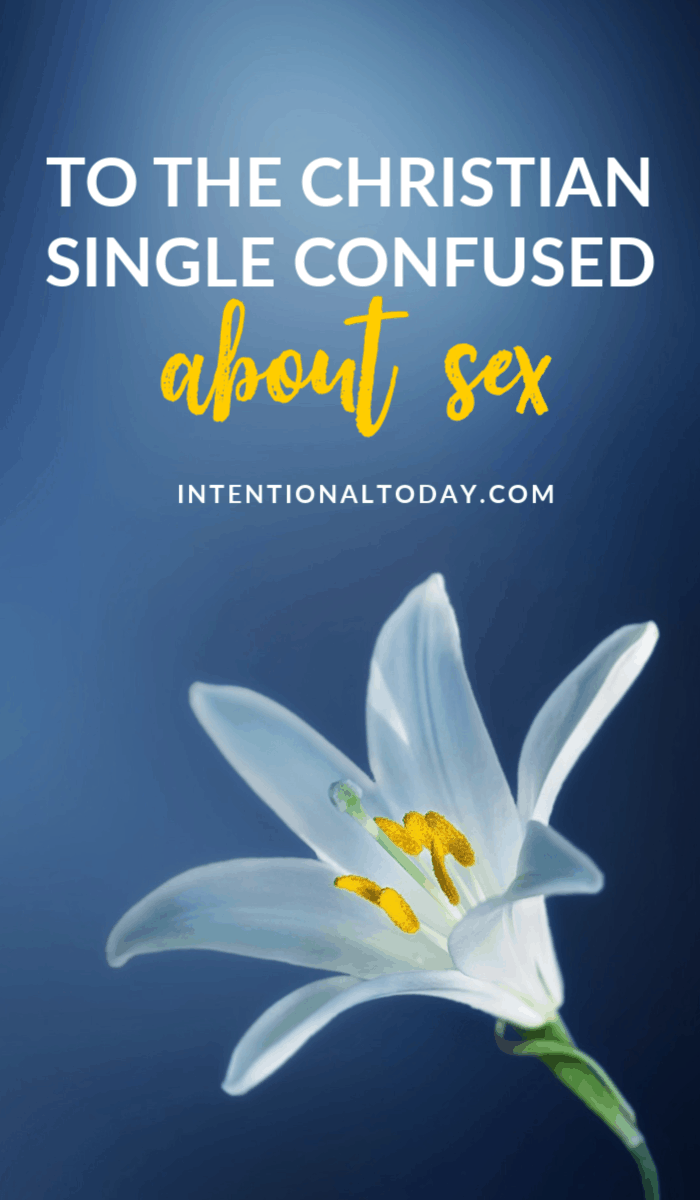 To the Christian single woman confused about sex, wondering why how to save sex for marriage and work through sexual feelings, here's help.