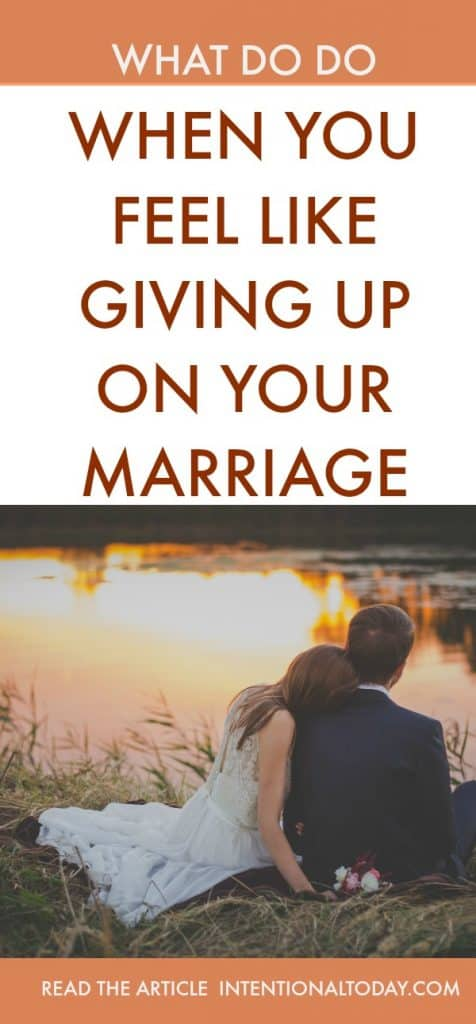 Have you ever hit the wall in marriage? Frustrated because your spouse won't address marriage issues? 5 things to do immediately