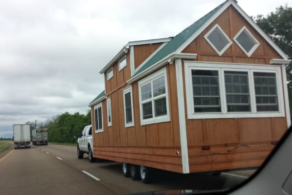 """Tiny-house"" on the move!"