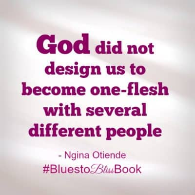 God did not design us to become one flesh with many different people
