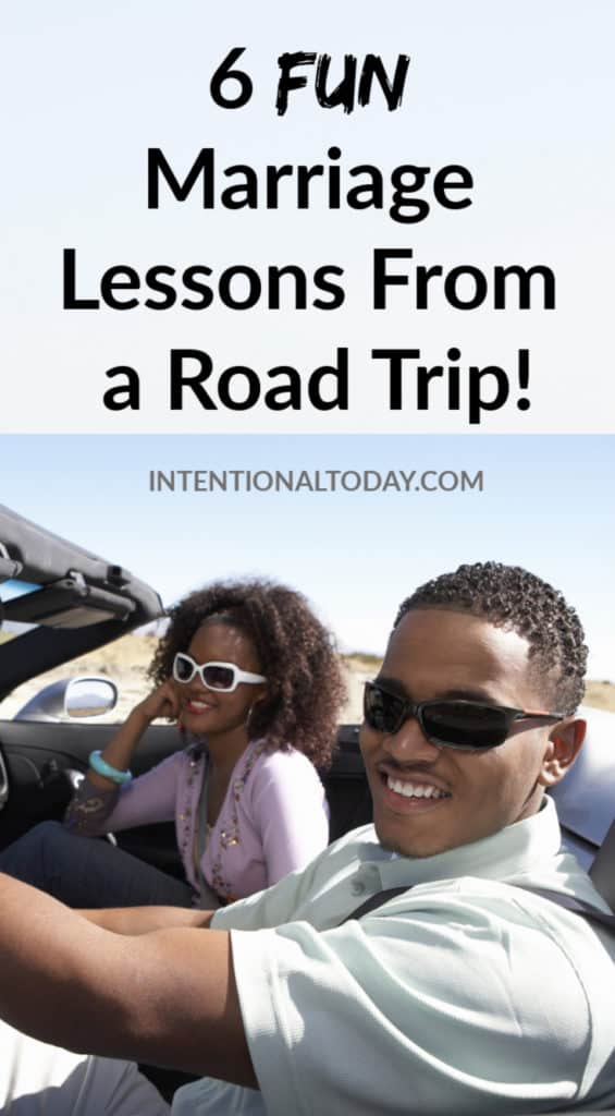 Fun marriage lessons from a 4 day road trip! Here's what I learned about my relationship with my husband when we drove 1,600 miles
