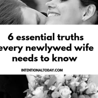 6 Things Newlyweds Need to Know About Marriage – What I Wish I Knew