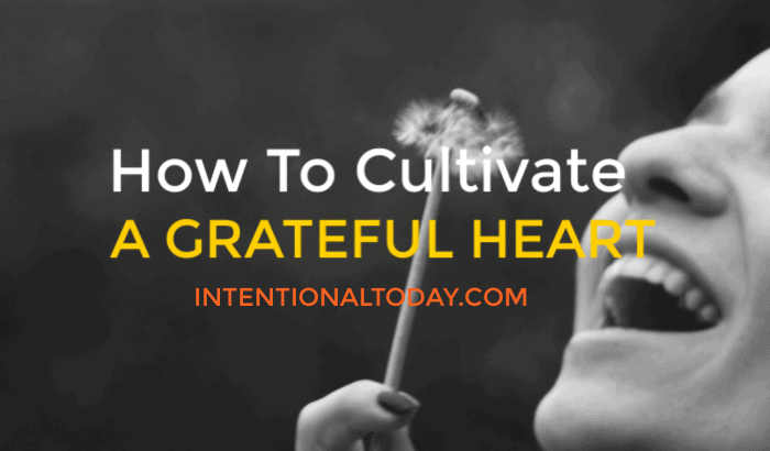 It's possible to cultivate a grateful heart. So often we camp on the negative things instead of the right things. How to change that plus my fabulous 14.