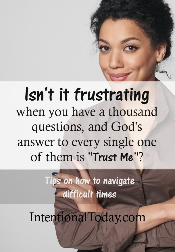 When marriage problems don't make sense - What to do when life doesn't add up and God is quiet