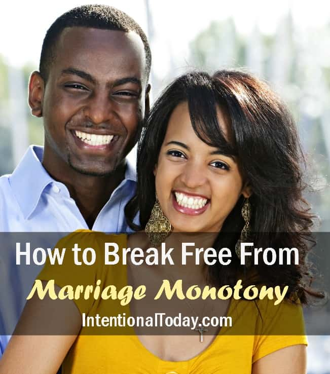 Tips for getting rid of monotony in marriage