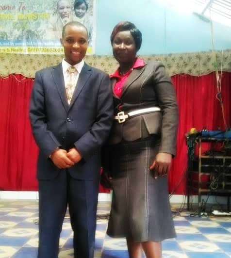 Pastor Wycliffe and Felister2