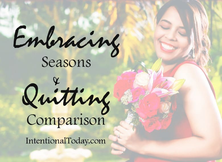 Embracing my blessing and qutting comparison