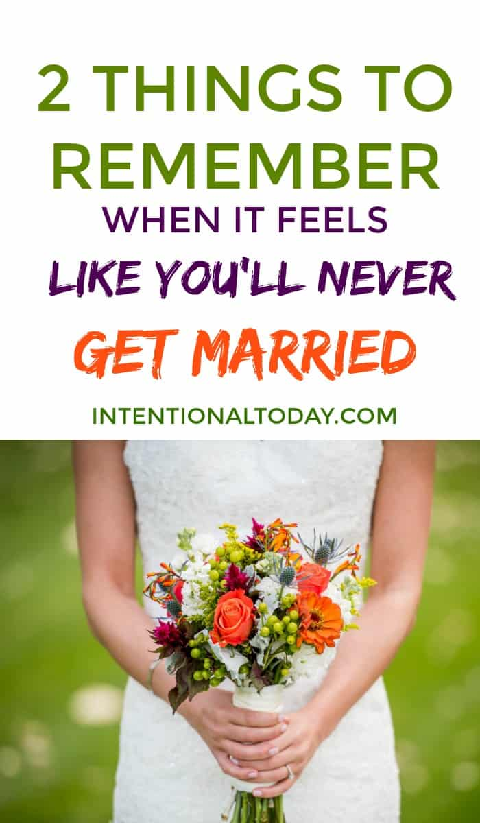 When marriage takes too long - 2 things you need to remember