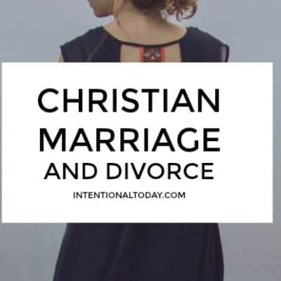Christian Marriage and Divorce – When You Have Done Enough