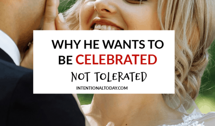 Are you tolerating your husband or celebrating him? How does that look like? Some tips for the wife who wants to stir joy and honor in her marriage