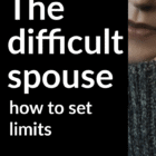 Are boundaries in marriage a reasonable option for the suffering spouse in a difficult marriage? Here are 5 guidelines