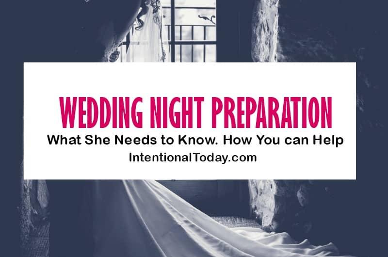Wedding night preparation